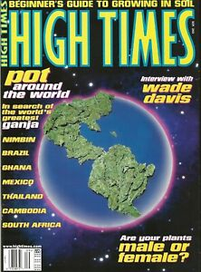 HIGH TIMES SEPT 1997  BEGINNER'S GUIDE TO GROWING IN SOIL - POT AROUND THE WORLD