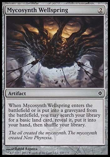 4x Mycosynth Wellspring New Phyrexia MtG Magic Artifact Common 4 x4 Card Cards