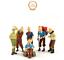 Lot-Figurine-Tintin-Collection-PVC-BD-Dessin-Anime-Aventure-jouet-collector-toy miniature 1