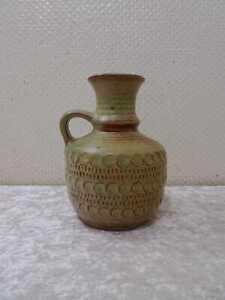 Rockabilly Diseño Bay Keramik Jarra Florero - Vintage Um 1950/60 -17 CM
