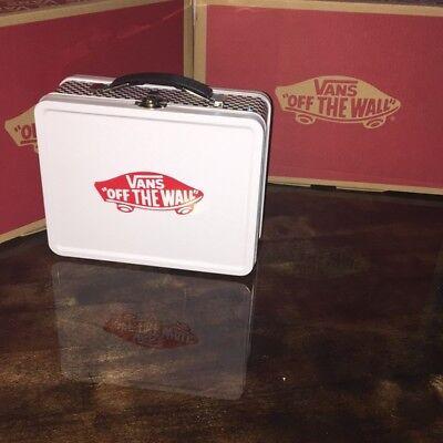 sehr bekannt zuverlässige Qualität attraktive Designs VANS lunch box Exclusive Friends and Family Tin Checkerboard | eBay