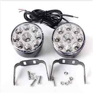 9-LED-Round-Daytime-Driving-DRL-Car-Fog-Lamp-Running-Light-Headlight-YY-AN