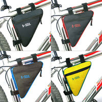 Bicycle Cycling Frame Front Top Tube Triangle Bag Outdoor Mountain Bike Pouch