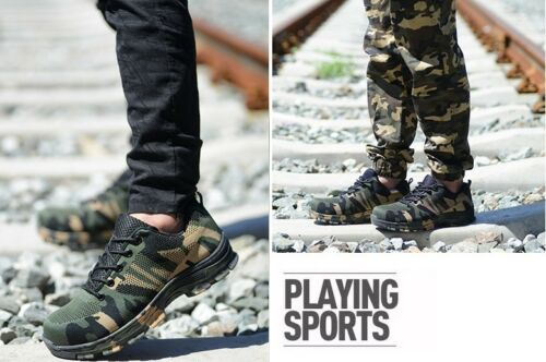 Indestructible Military Battlefield Shoes Breathable Work Safety Shoes Casual