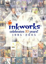 INKWORKS 2005 SDCC SAN DIEGO COMIC CON PROMO PACK HEADER CARD ONLY INK-10