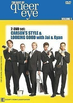 1 of 1 - The Best Of Queer Eye , Vol 1 (DVD, 2-Disc) R-ALL, NEW, FREE POST IN AUSTRALIA