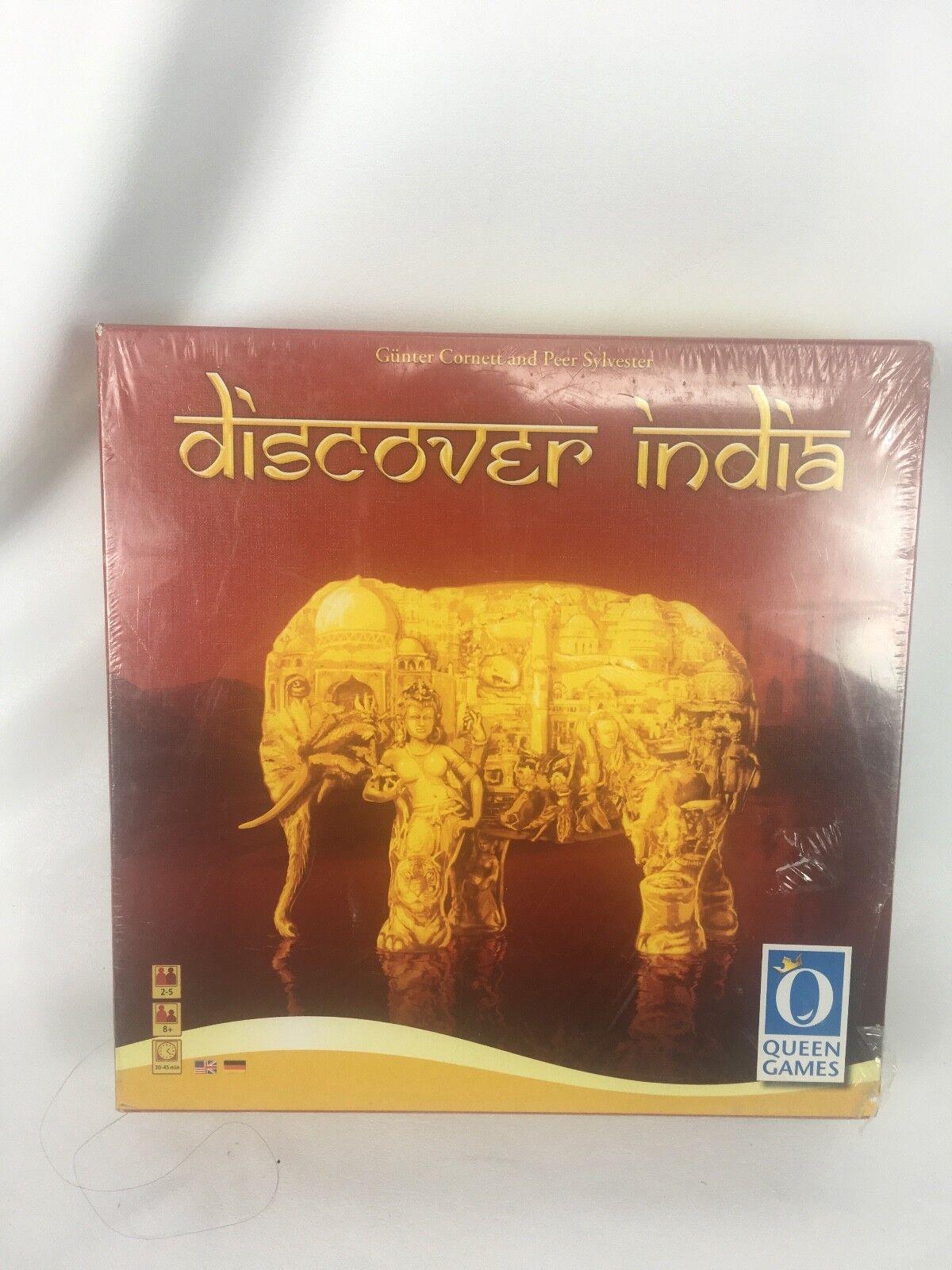 Entdecken sie indiens brettspiel von queen games neu versiegelt, 2 bis 5 spieler