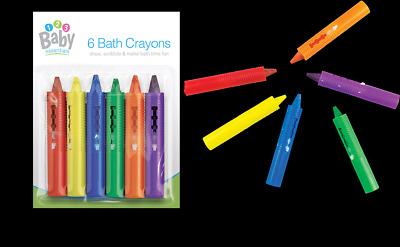 Munchkin Baby Bath Crayons Fun Bath Non Toxic Toy Kids Art Drawing Paint 5pk