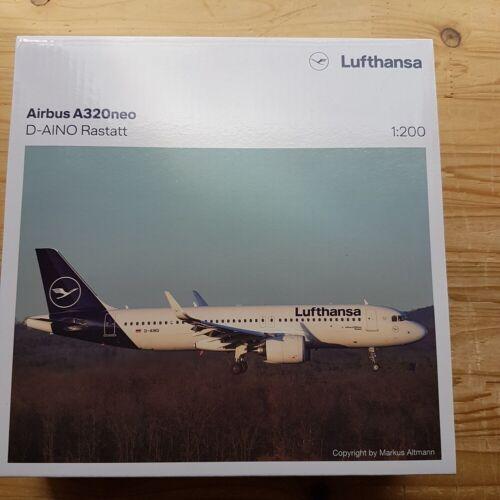 "new colors /""Rastatt/"" Neu Herpa 559768-1//200 Lufthansa Airbus A320neo"