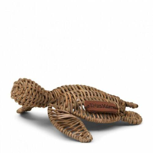 Klein Riviera Maison Deko-Schildkröte Happy Turtle Rustic Rattan