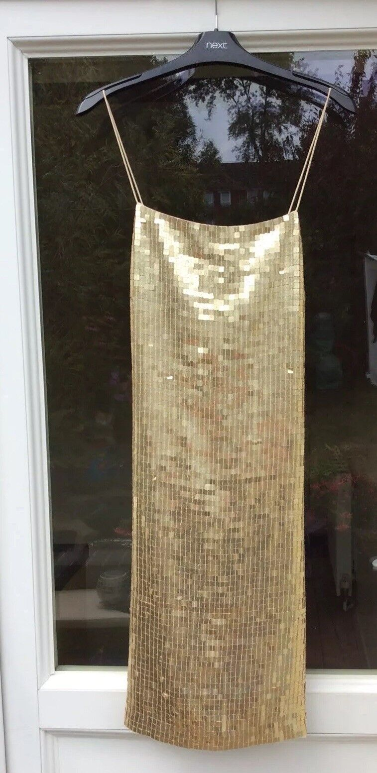 Stunning Sequinned Dress Size 14 BNWT from NEXT RRP .99