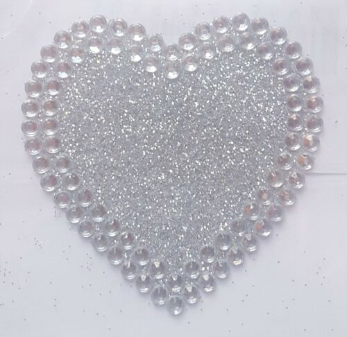 Self Adhesive Craft Stickers Diamante Rhinestone Gems Words Embellishment