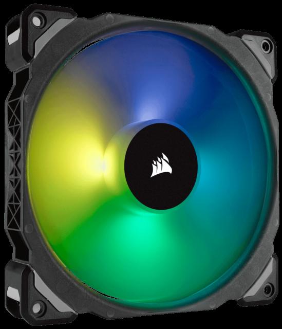 CO-905 140mm Premium Magnetic Levitation RGB LED PWM Fan CORSAIR ML140 PRO RGB