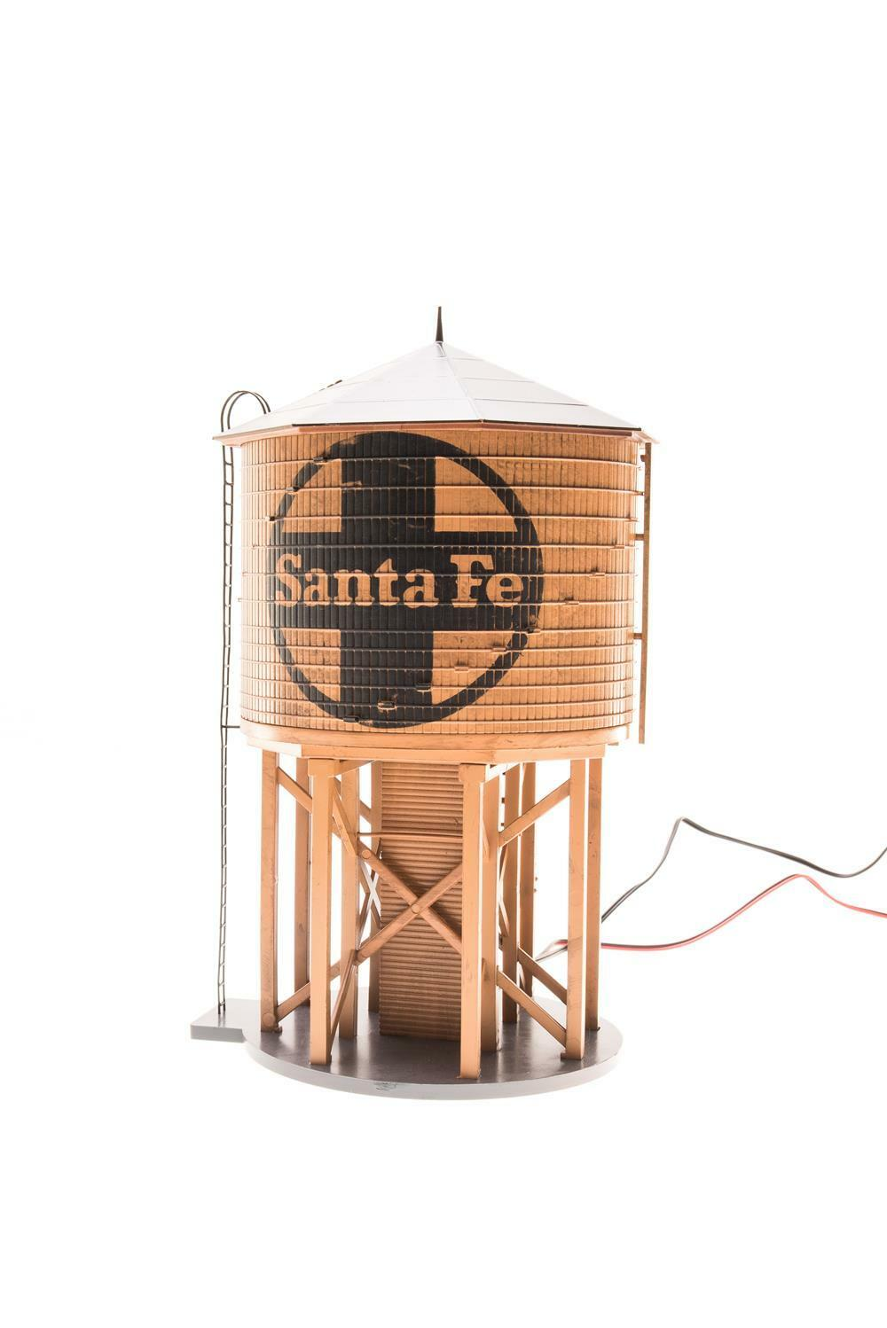 Broadway Limited 6092 HO Santa Fe Operating Water Tower with Sound