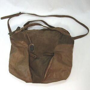 Large Brown Hobo bag with adjustable strap