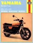 Yamaha RD400 Twin 1975-79 Owner's Workshop Manual by Mansur Darlington (Paperback, 1988)