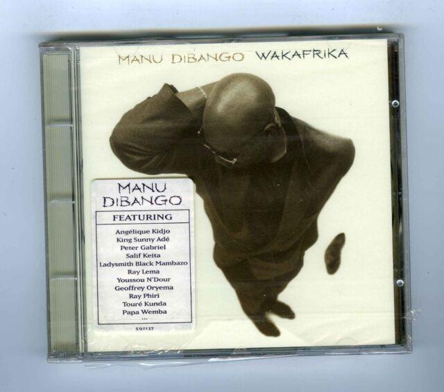 CD (NEW) MANU DIBANGO WAKAFRIKA