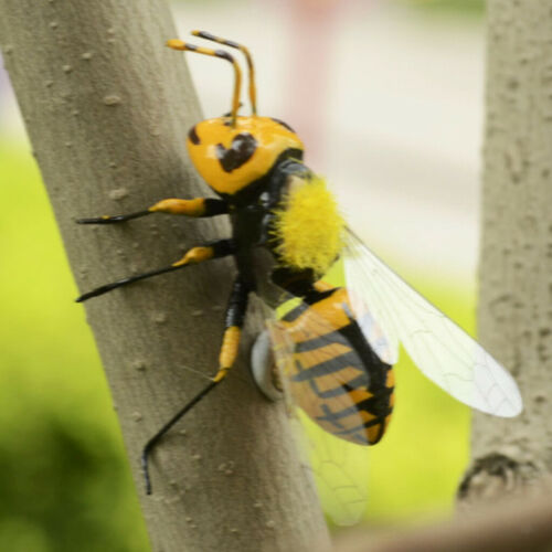 Summer Insect Statue Tree Lawn Ornament DIY Animal Sculpture Decor Gift Bee