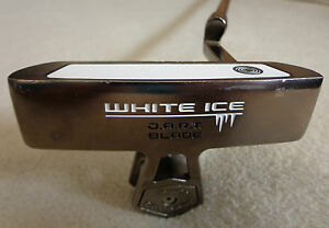 Odyssey-White-Ice-D-A-R-T-Blade-35-034-Heel-Shafted-Putter