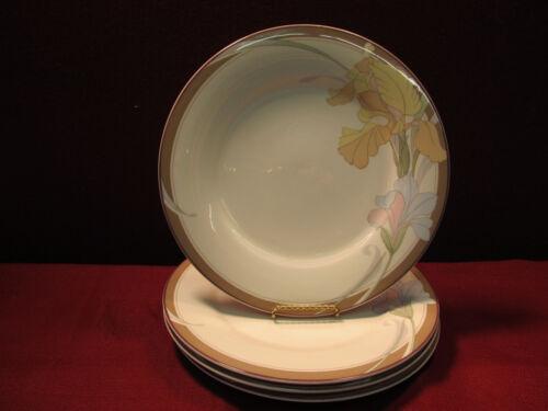 "4 Noritake Cafe du Jour 10 1//2/"" Dinner Plates Set of"