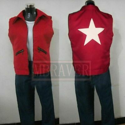 The King of Fighters 97 Terry Bogard cosplay costume Jacket Pants Shirt New