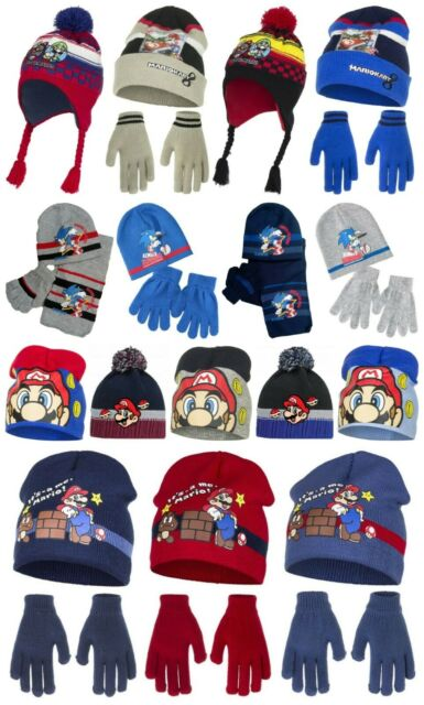 SALE Boys Spiderman Hat and Scarf Set Grey Marvel 4-5 Years and 5-6 Years NEW
