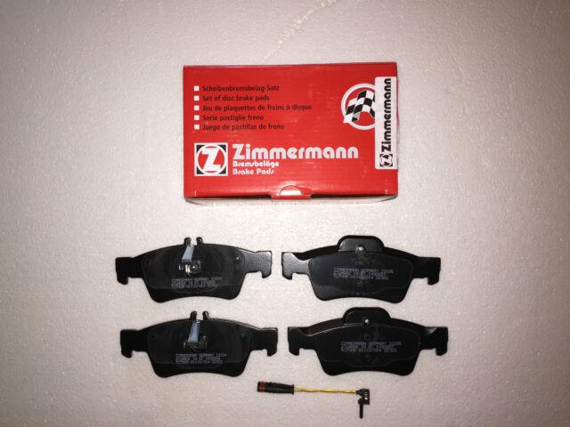 Carpintero de Germany Pastillas Freno + Contacto Avisador Trasero W211 S211 W212