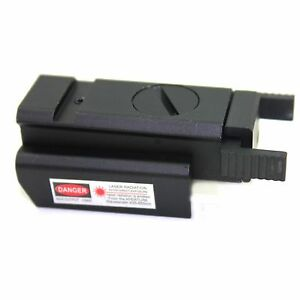 New Rail Mount Low Profile Red Dot Mini Laser Sight for Pistols - Free Shipping