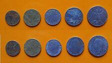 Regno d'Italia - Vitt. Emanuele III - 5 + 10 + 20 + 50 Cent. + 1 Lira 1942 BB