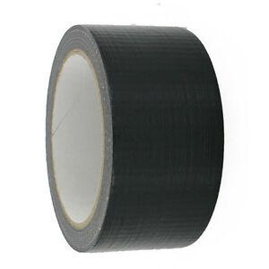 Black-High-Duty-Quality-Professional-Gaffa-Duct-Cloth-Gaffer-Tape-48MMX50M