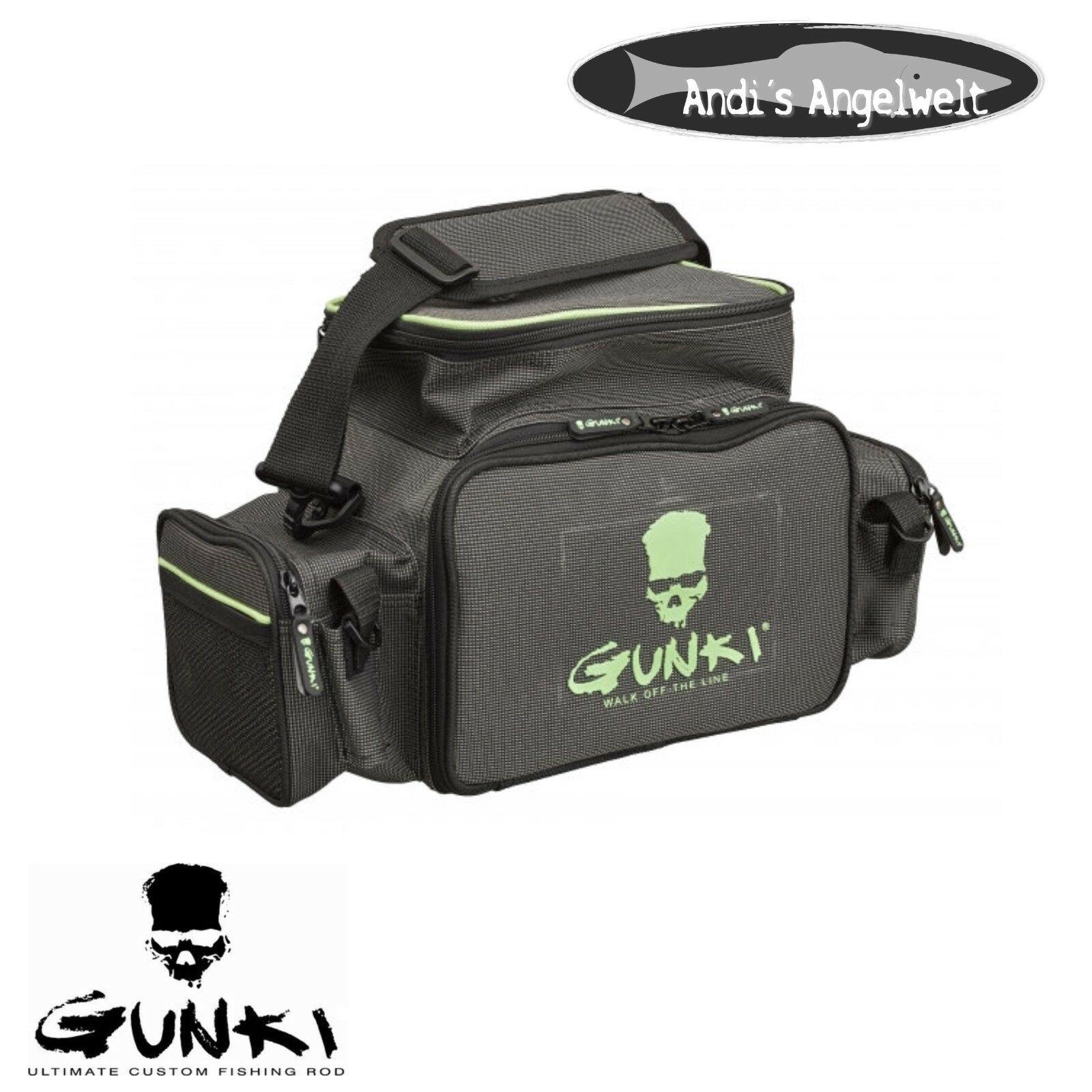 Gunki Iron-T Box Bag Front-Perch Pro Anglertasche inkl. Boxen - sehr robust