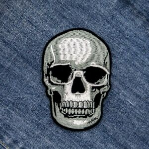 DIY-Skull-Embroidered-Sew-On-Iron-On-Patch-Badge-Fabric-Applique-Craft-Transfer
