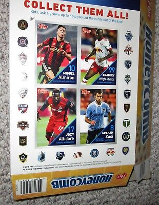 Honeycomb Cereal Box Mls Soccer Topps Card Panel 2018 Zusi Jozy Altidore Almiron Ebay