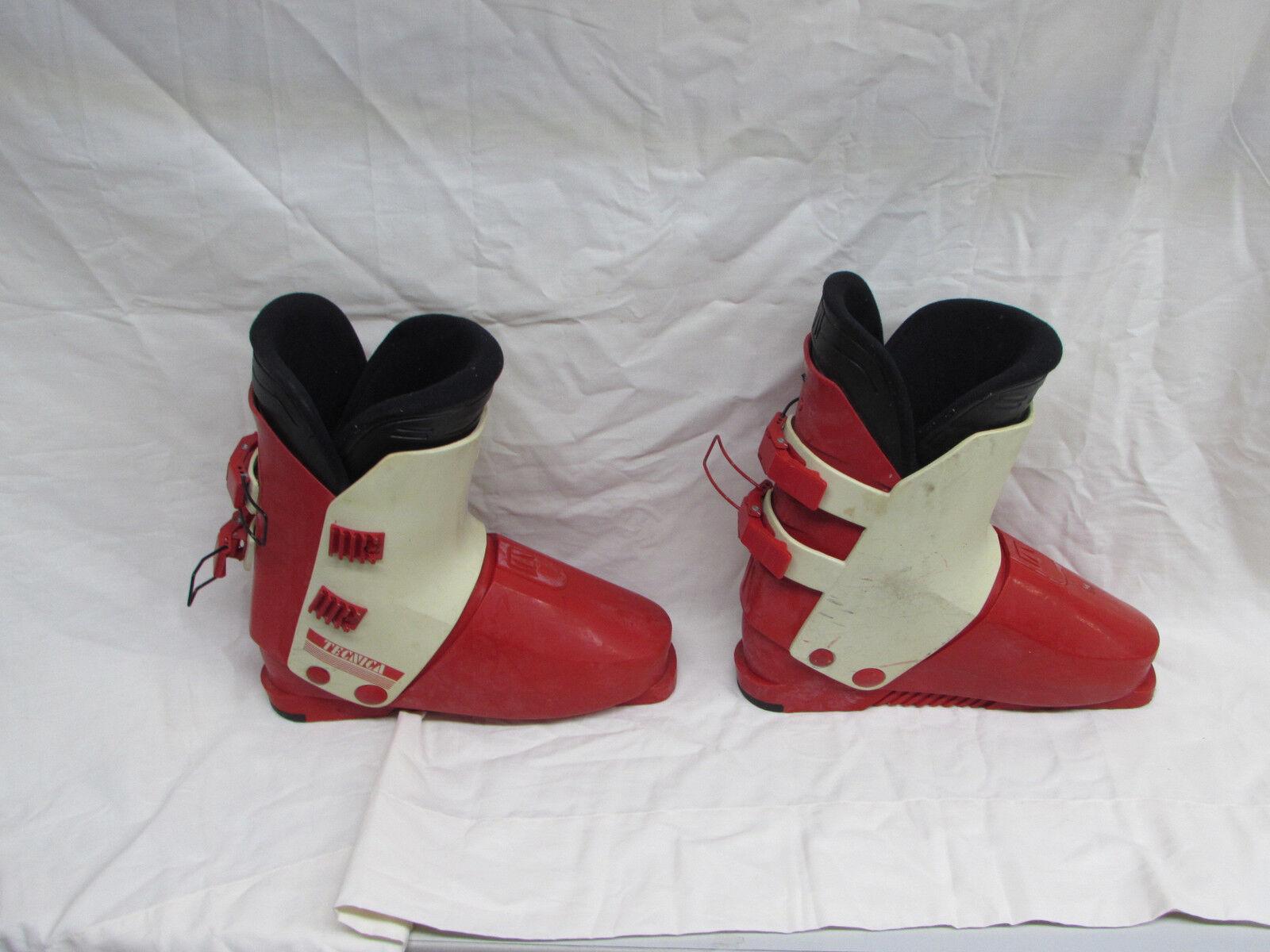 Tecnica Ski Stiefel Größe 11 29.5 Orange & Weiß Weiß Weiß Used Nice Shape 07f469
