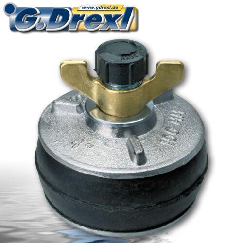 z.B Absperrscheibe Rohrverschluss für Rohre 100 mm ø zum Hochwasserschutz