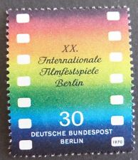 GERMANY MNH STAMP DEUTSCHE BUNDESPOST BERLIN 1970 FILM FESTIVAL  SG B349