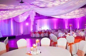 ... Hochzeit, ceiling drape, Baldachin, zum Brautkleid, zur Miete  eBay