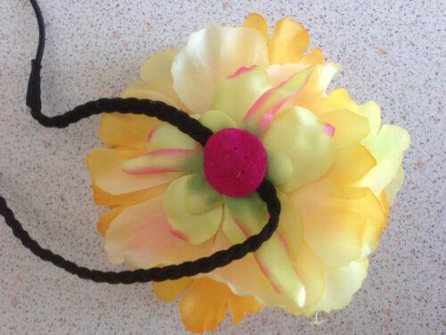 Elegant Silk Flower Hair Band Big Peony Flower Headband