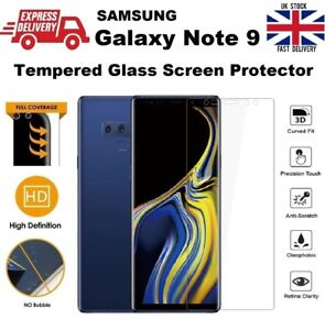6D-Thin-amp-Slim-0-2mm-Full-Glass-Bubble-Free-Saver-For-Samsung-Galaxy-Note-9