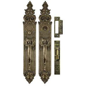how to change a door lock set