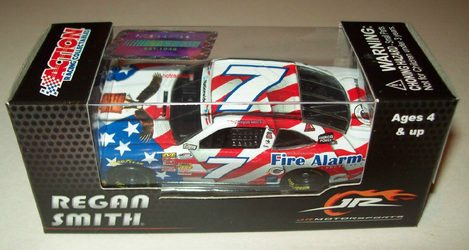 Regan Smith 2014 2014 2014 Fire Alarm Service Memorial Day Flag Nationwide Camaro 1 64 9fa6c1