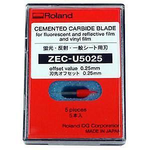 Sandblast ZEC-U3050-60°//.50 Offset Blade 5 ea