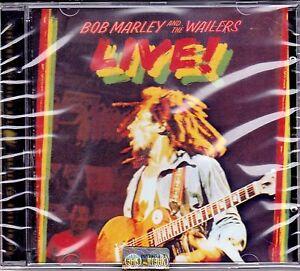 CD-Compact-disc-BOB-MARLEY-and-THE-WAILERS-LIVE-nuovo-sigillato