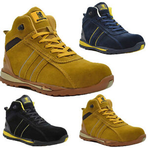 6a57325c889 Details about LADIES LIGHTWEIGHT BOOTS STEEL TOE CAP SAFETY WORK TRAINERS  SHOES WOMEN SIZE 3-8
