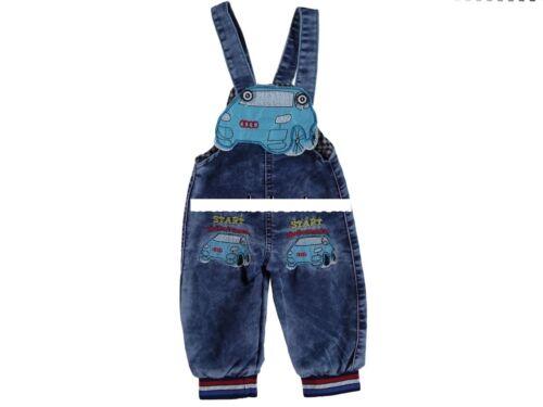 Baby Jungen Jeans Latzhose Gr. 74 68 86