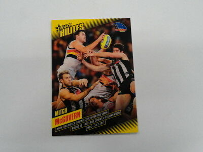 Liberal 2017 Afl Select Hilites Card Sh19 Mitch Mcgovern Adelaide 104/295 Aromatic Character And Agreeable Taste Australian Football Cards Sports Trading Cards