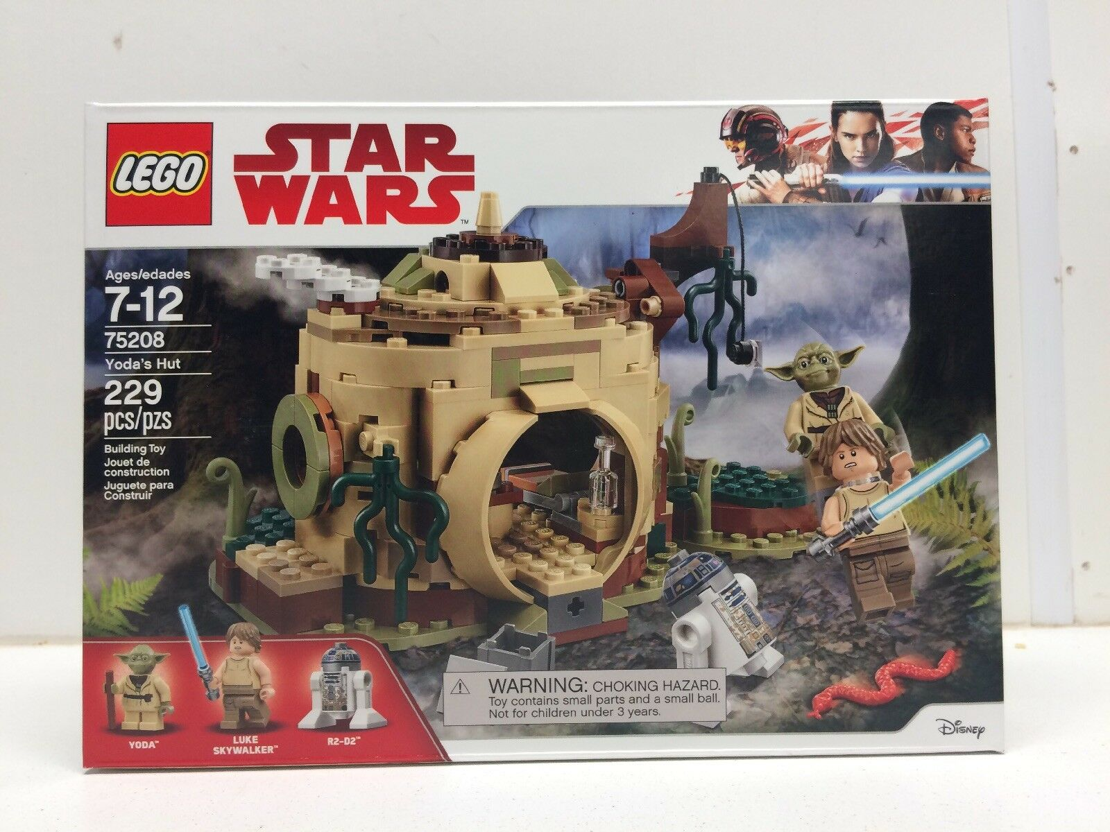 NEW NIB LEGO Star Wars  75208 Yodas Hut  NISB Factory Sealed