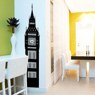 BIG BEN LONDON CLOCK Vinyl wall art sticker decal room decoration