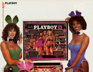 BALLY PINBALL - PLAYBOY - FLYER/LEAFLET - FREE NEXT DAY DELIVERY