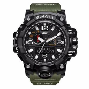 Men-039-s-Military-Analog-Digital-LED-Alarm-Army-Shock-Sport-Waterproof-Wrist-Watch